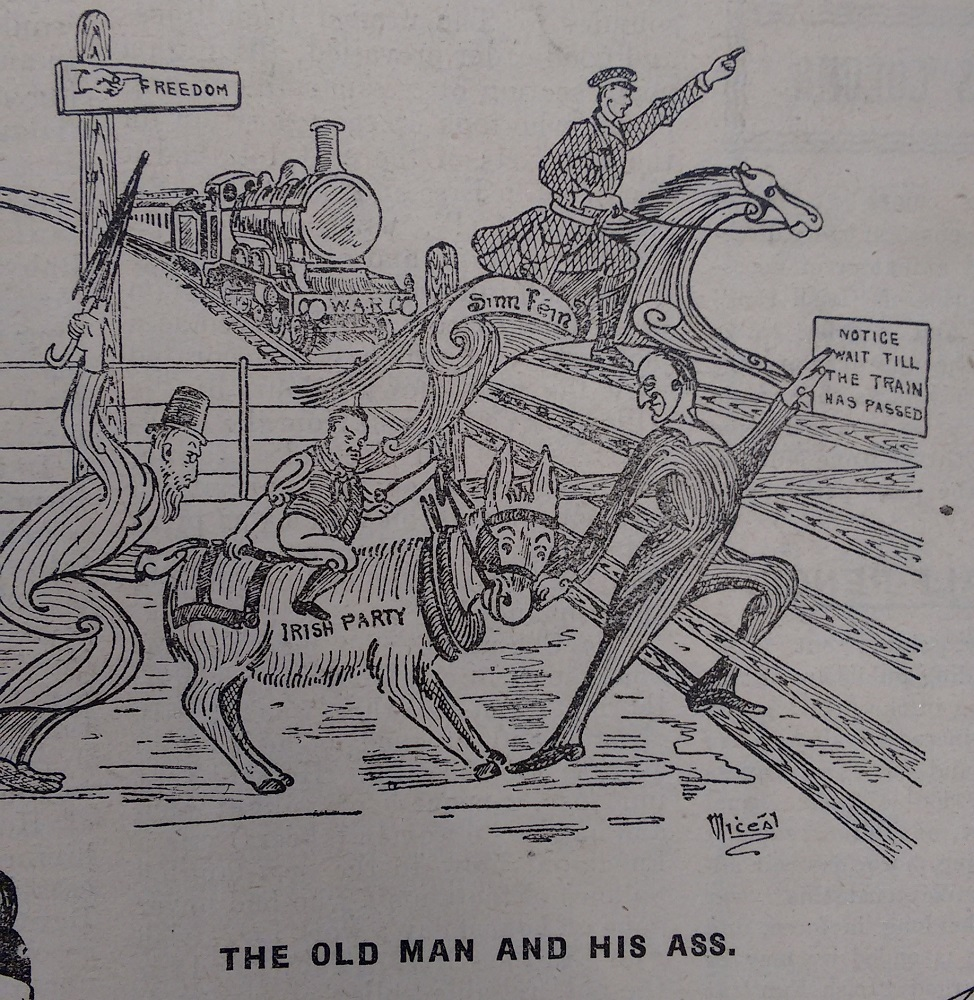 Political cartoon, 1919