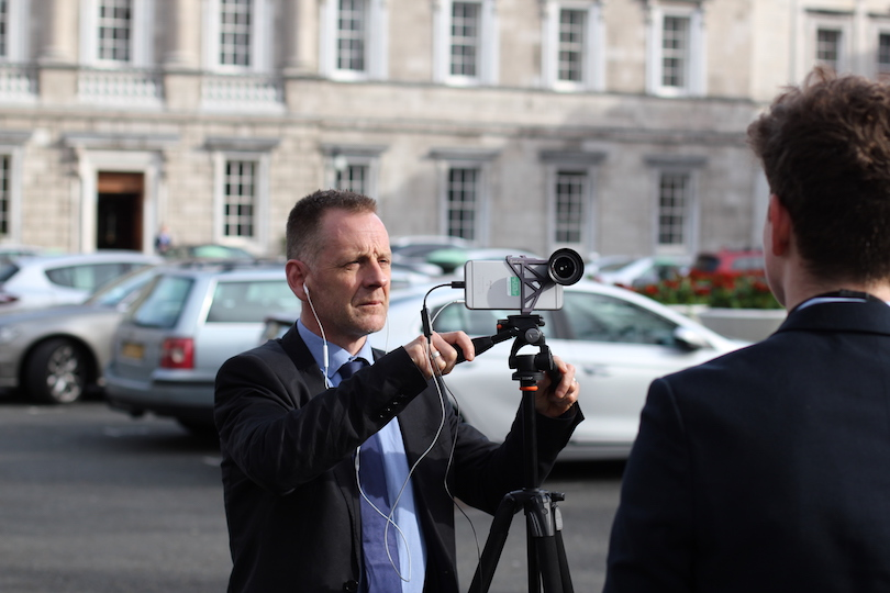 Day in the life of an Oireachtas Press Officer