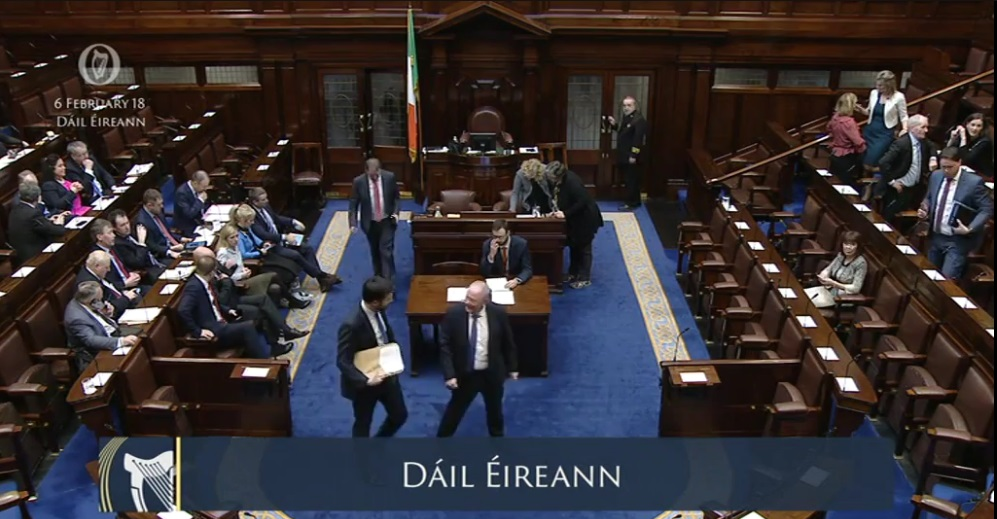 Lesson plans: A day in the Dáil and Seanad
