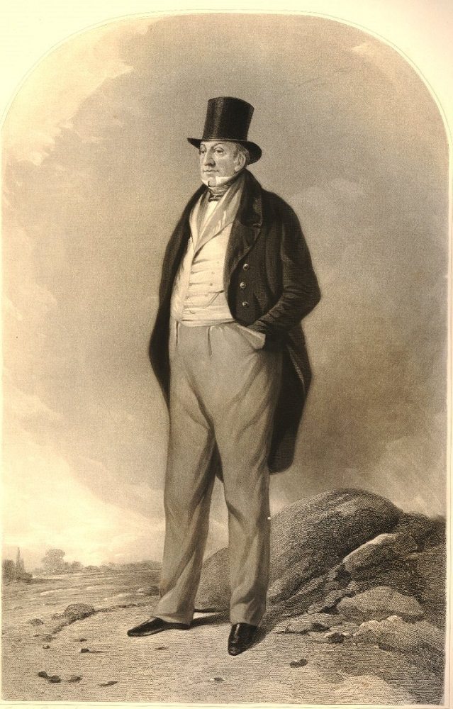 full length portrait of Charles Talbot, Lord Lieutenant of Ireland, 1817-1822