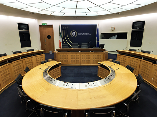 Make a submission to an Oireachtas Committee