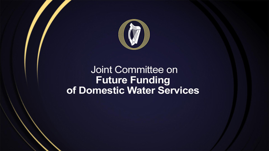 Future Funding of Domestic Water Services JC