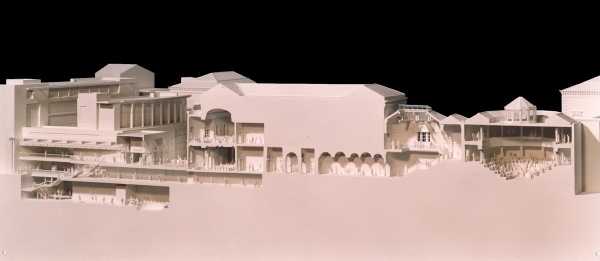 Architect's model of Leinster House 2000