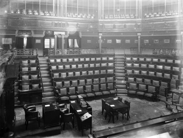 Photograph of the Dáil Chamber