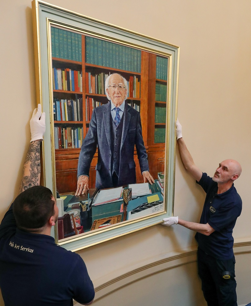 Art in Leinster House