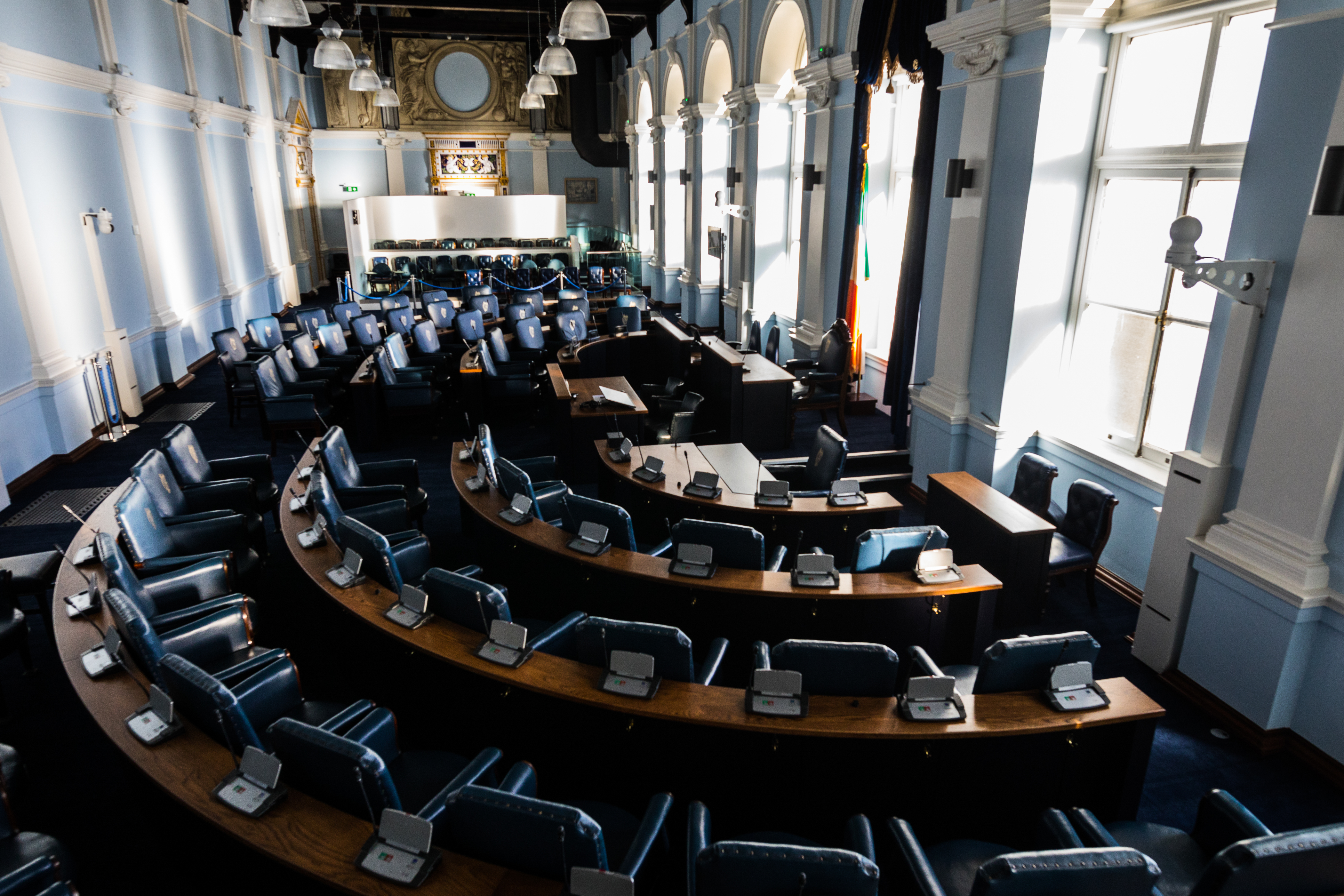 Seanad Chamber relocated to National Museum