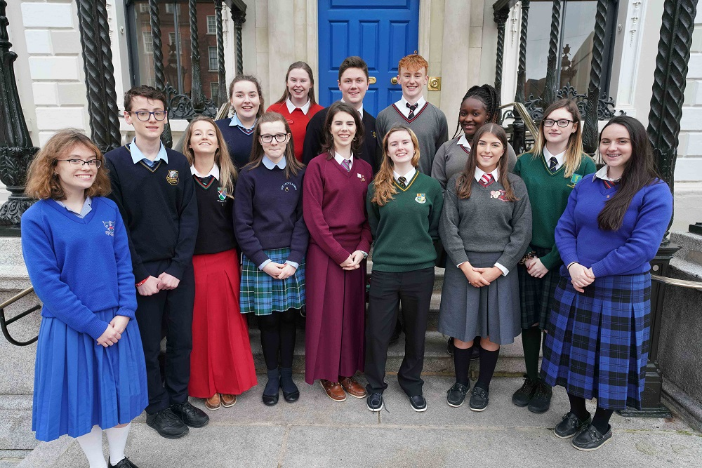 Members of the Houses of the Oireachtas TED-Ed Club