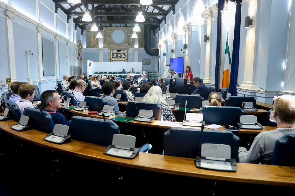 BIPRA meeting in the Seanad Chamber