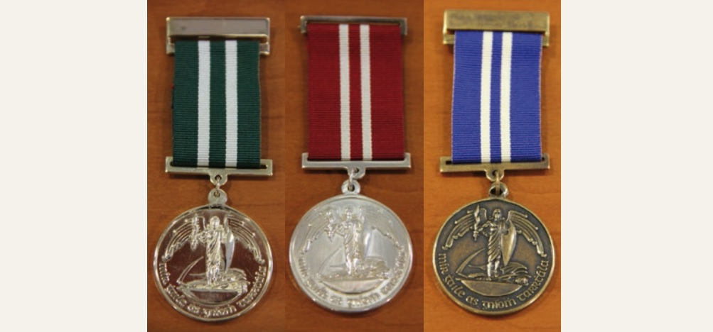National Bravery Awards medals