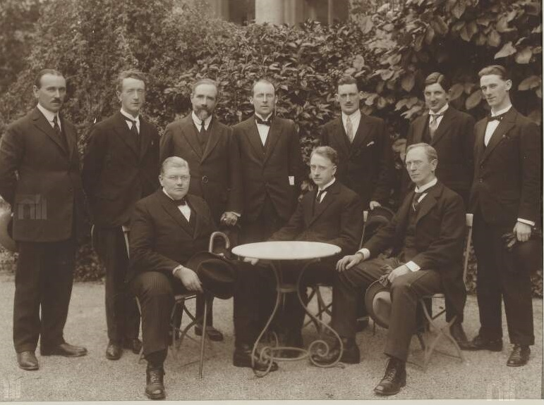 Cabinet c.1923; W.T. Cosgrave centre front row / Courtesy of the National Library of Ireland