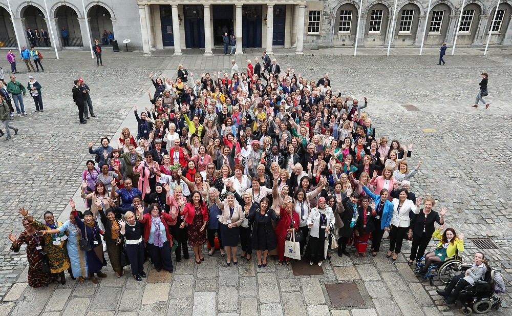 Delegates at the International Congress of Parliamentary Women's Caucuses 2018
