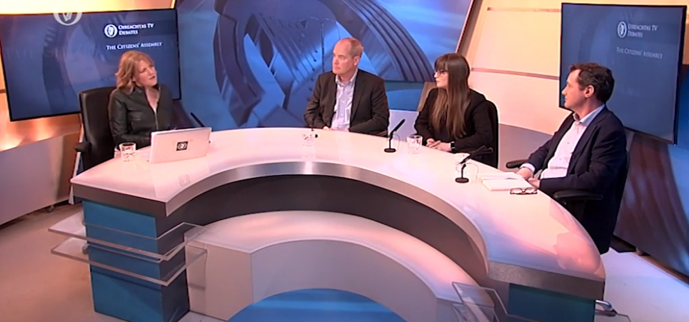 Oireachtas TV studio debate on the Citizens' Assembly